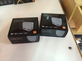 2 router orange huawei HG 532s