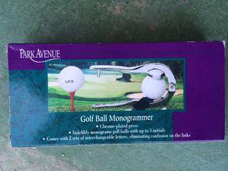 Personaliza tus bolas de Golf