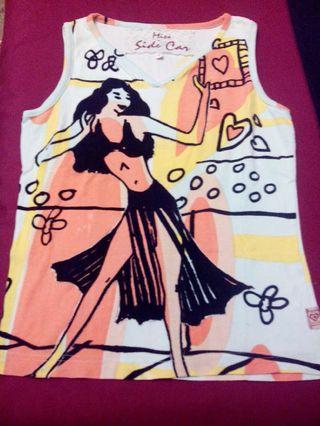 Camiseta Miss Side Car talla M