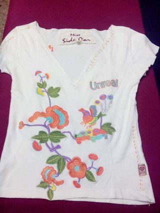 Camiseta miss sidecar talla S