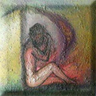 Acrílico y técnica mixta sobre lienzo pintado a mano