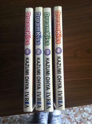 "Coleccion manga ""dream kiss"""