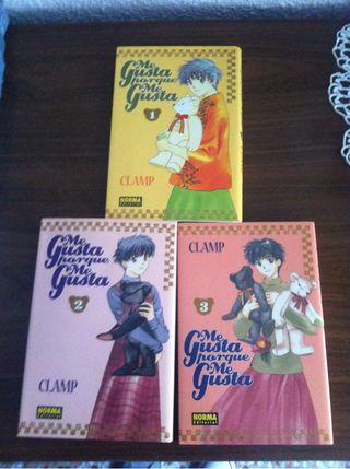 "Coleccion manga ""me gusta porque me gusta"""
