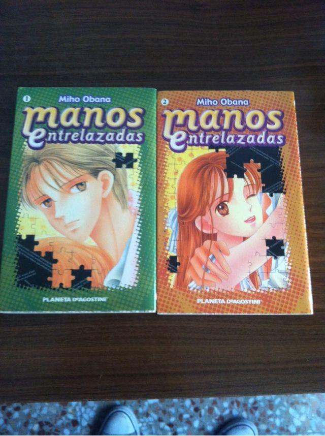"""Coleccion manga """"manos entrelazadas"""""""