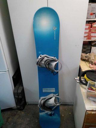 Tabla snow board rossignol como nueva