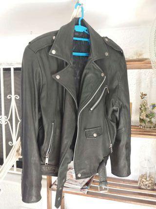 Chupa chaqueta de cuero piel auténtica