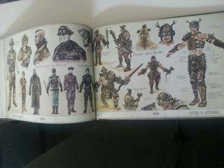 Libro de arte y making of fallout 3