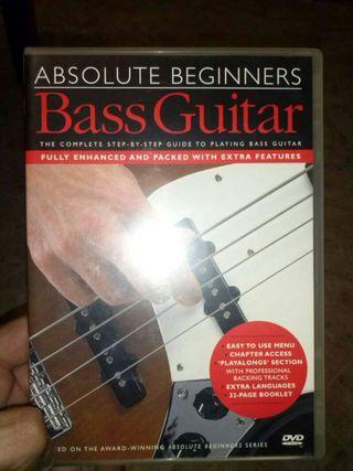 Curso en DVD para aprender a tocar el bajo